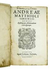 Epistolarum medicinalium libri quinque