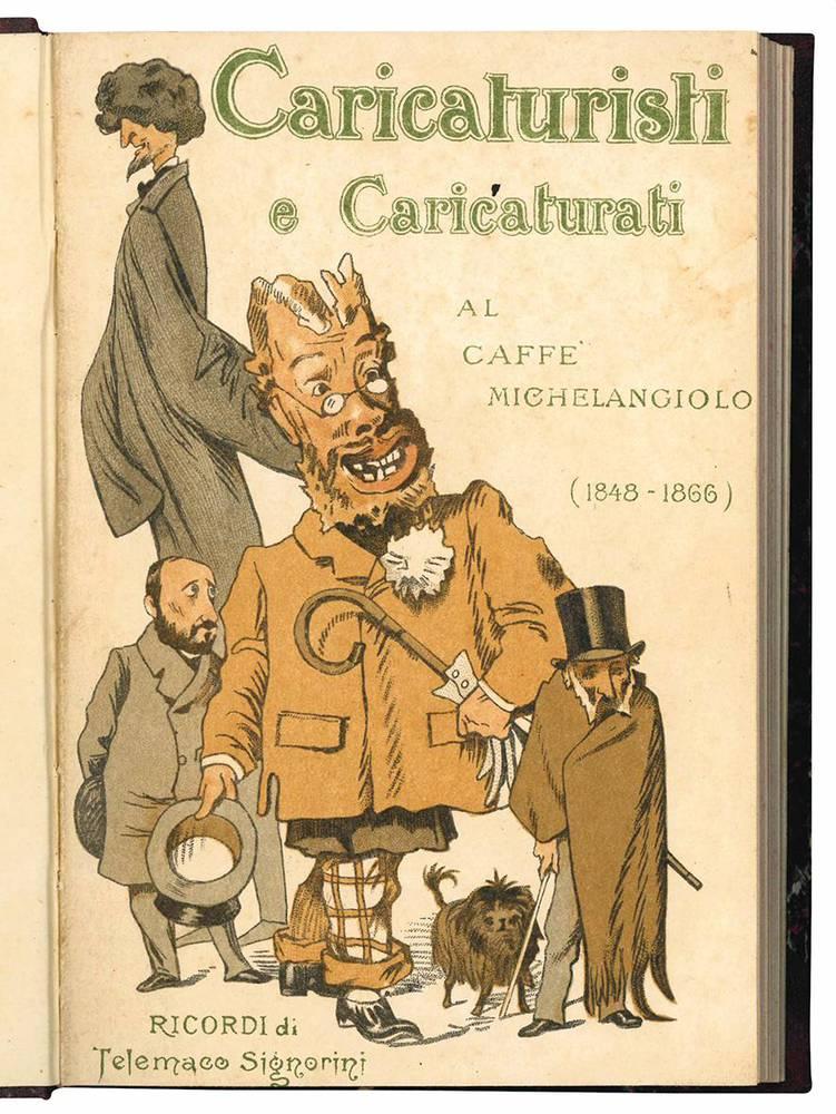 Caricaturisti e caricaturati al Caffè