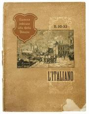 L'Italiano. Anno XII. Numero 52/53. Numero dedicato alla Bella Venezia.