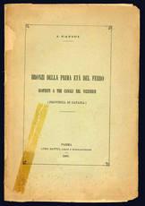 Bronzi della prima eta del ferro scoperti a Tre Canali nel Vizzinese.