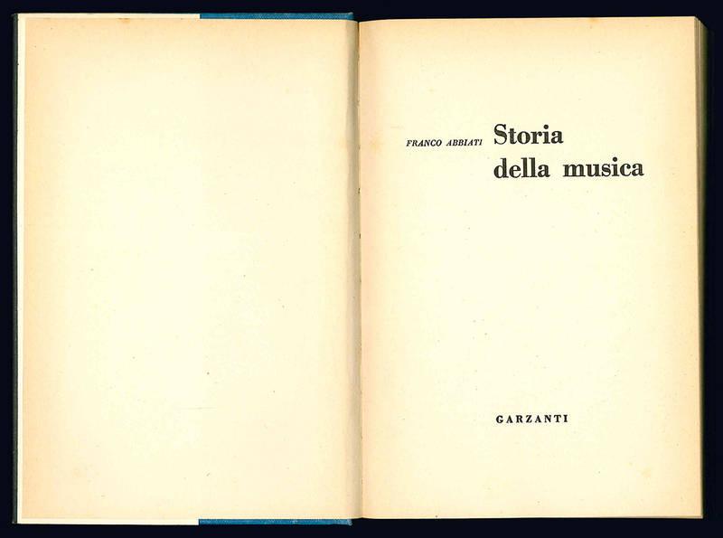 Storia della musica.