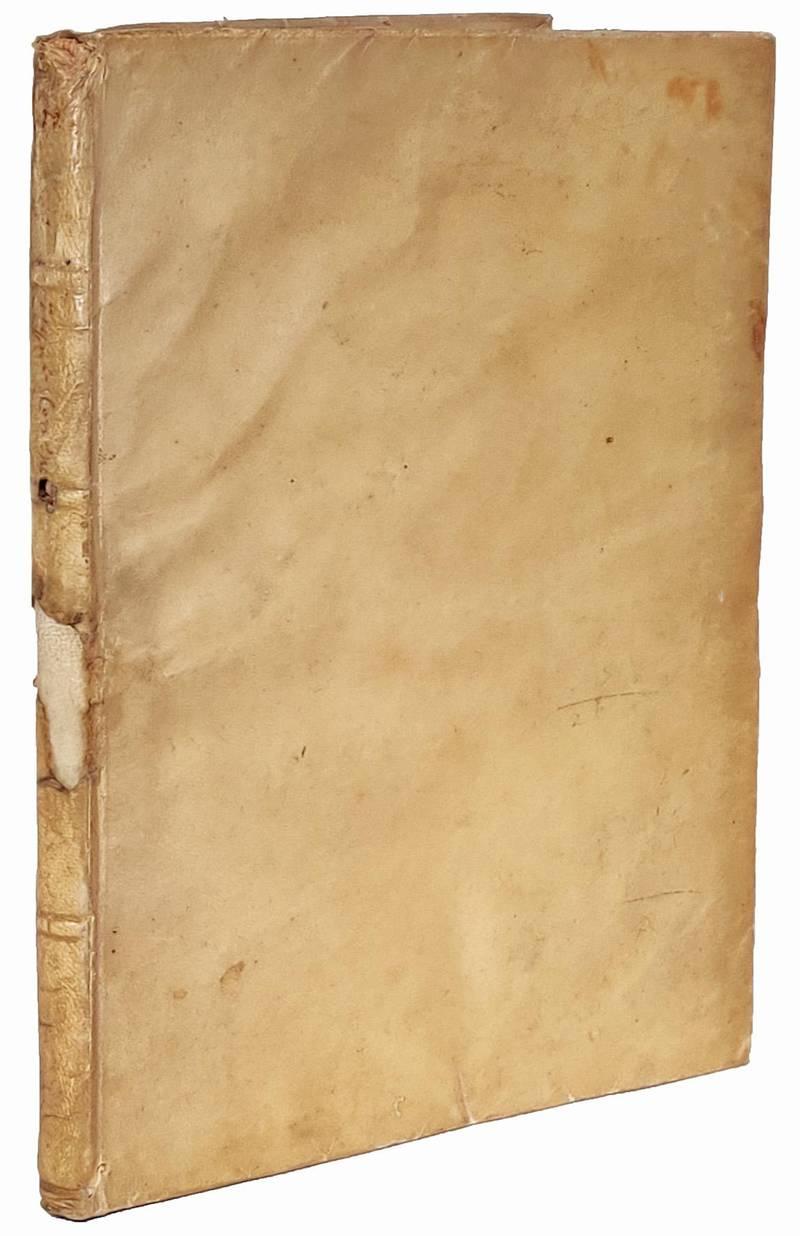 Della misura dell?acque correnti di don Benedetto Castelli monaco cassinense
