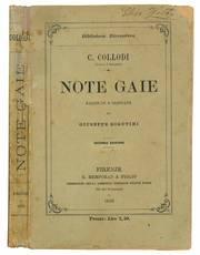 Note gaie raccolte e ordinate da Giuseppe Rigutini. Seconda edizione.