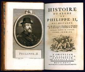 Histoire du regne de Philippe II., roi d'Espagne.