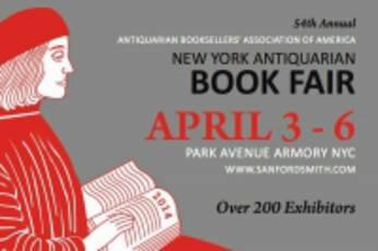 New York Antiquarian Book Fair 2014 - Short title list