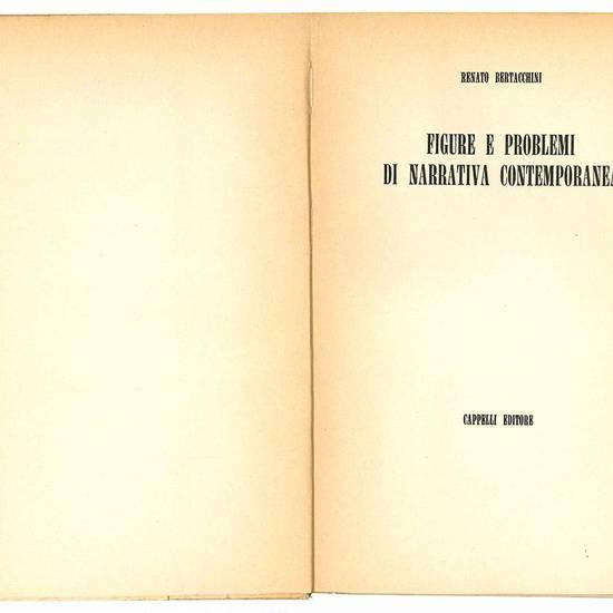 Figure e problemi di narrativa contemporanea.