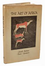 The art of Africa. Edited and arranged by J. W. Grossert with illustrations drawn by the authors and Lucy Jaques-Rosset.