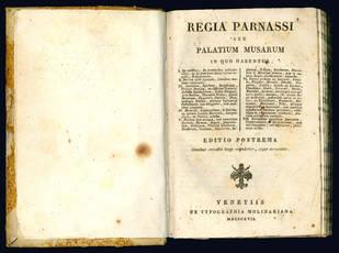Regia Parnassi seu Palatium Musarum.