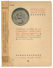 La corrente popolare nel Rinascimento : berte, burle e baie nella Firenze del Brunellesco e del Burchiello
