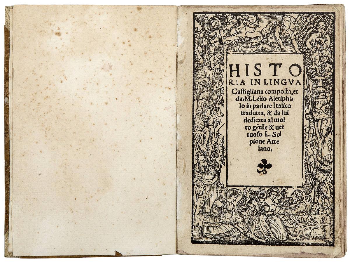 Historia in lingua Castigliana