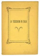 La tedescheria in Italia. All'egregio dottore Alberto Ricci riminese che conduce in moglie nel carnevale 1878 Francesca Brollini da Fano.