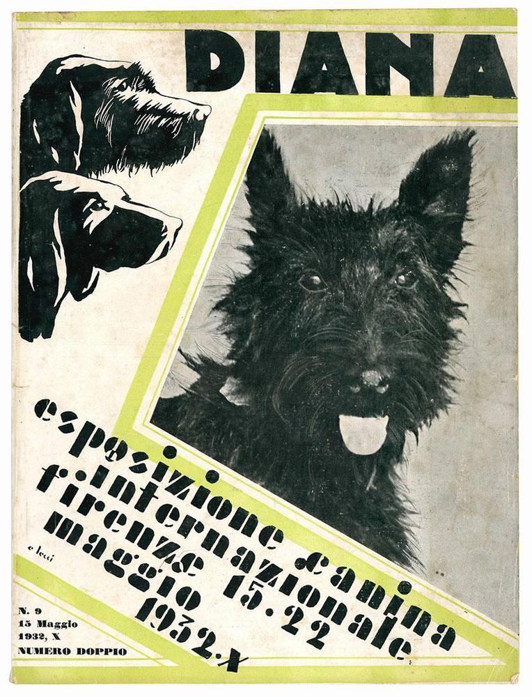 Diana. Esposizione canina internazionale. Firenze 15-22 maggio 1932-X. Numero doppio.