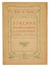 Strenna della Cassa di Soccorso per gli Studenti bisognosi. Modena - Gennaio 1922.