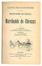 Marchands de cheval et marchands de chevaux