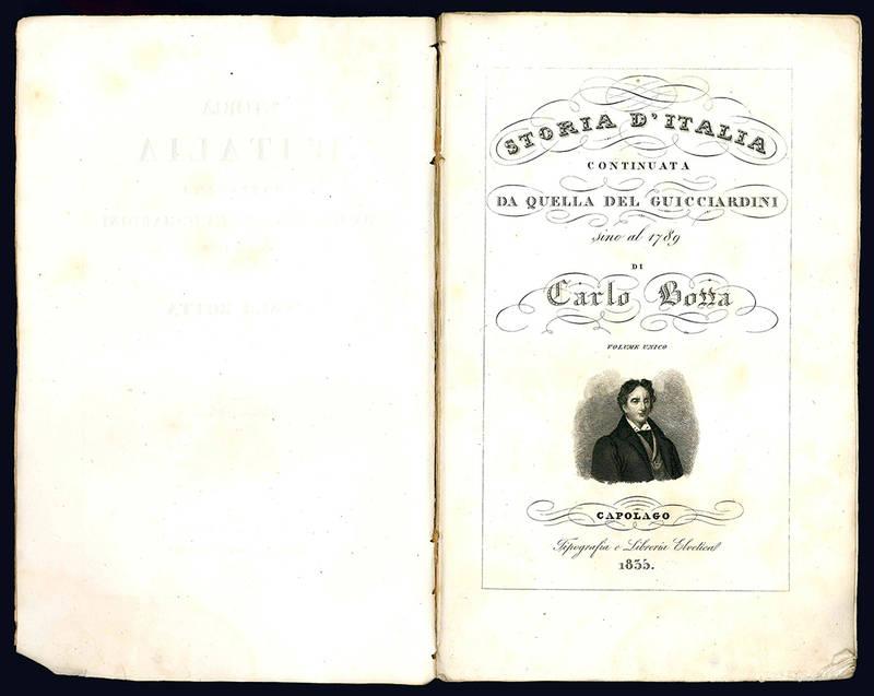 Storia d'Italia continuata da quella del Guicciardini sino al 1789.
