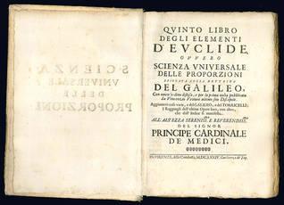 Quinto libro degli elementi d'Euclide