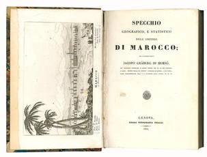 Specchio geografico, e statistico dell'impero di Marocco / del cavaliere conte Jacopo Graberg di Hemso