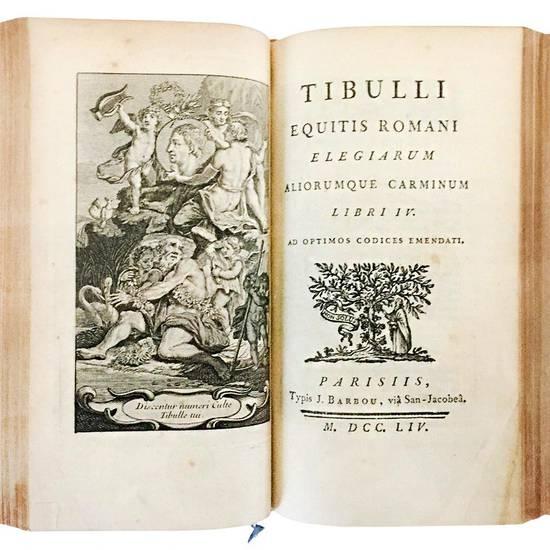 Catullus, Tibullus et Propertius, pristino nitori restituti, & ad optima exemplaria emendati, cum fragmentis C. Gallo inscriptis