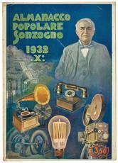 Almanacco popolare Sonzogno. Anno 1932-X.