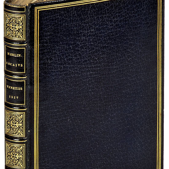 Merlini Cocai poetae mantuani liber Macaronices libri XVII