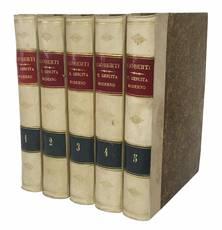 Il gesuita moderno. Volume I (-V).
