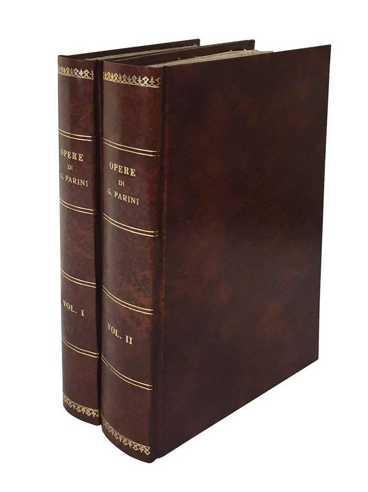 Opere di Giuseppe Parini pubblicate per cura di Francesco Reina Volume I. [-II.]