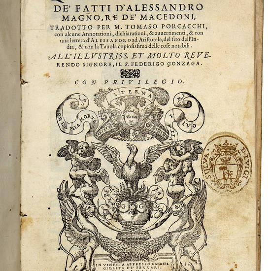 De' fatti d'Alessandro Magno