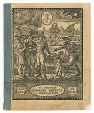 Le véritable messager boiteux de Berne et Vevey. XIX° siècle. An 1841.