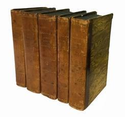 Scriptores rei rusticae ex recensione Io. Gottlob Schneider cum notis. Tomus primus (-quintus).