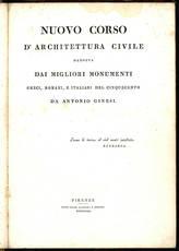 Nuovo corso d'architettura civile