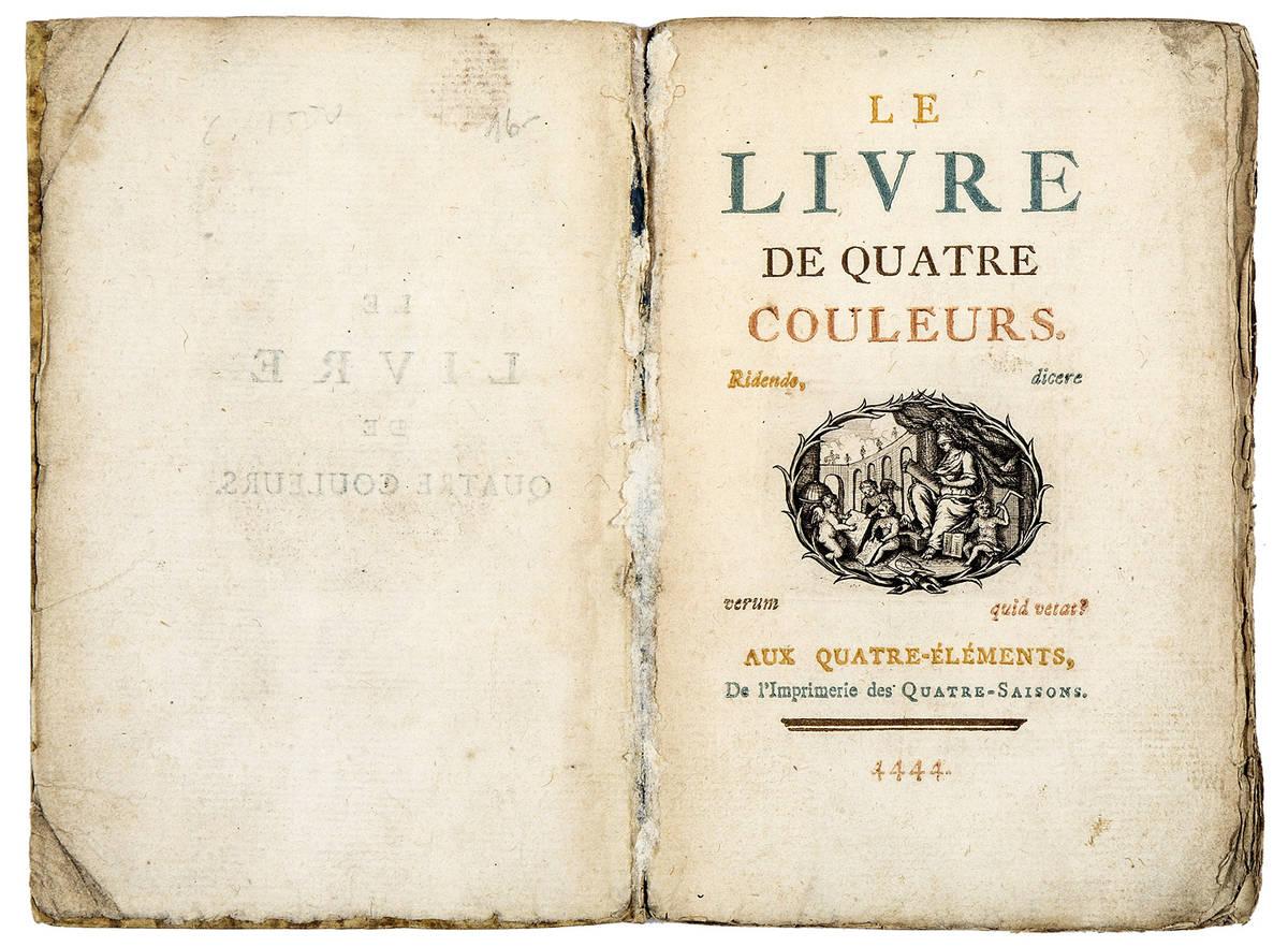 Le livre de quatre couleurs