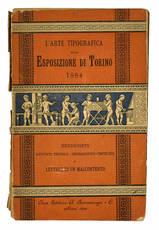 L' arte tipografica alla esposizione di Torino.