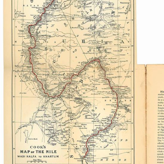 The Nile. Notes for travellers in Egypt ... with two maps, plans of temples and numerous illustrations. Eighth edition.