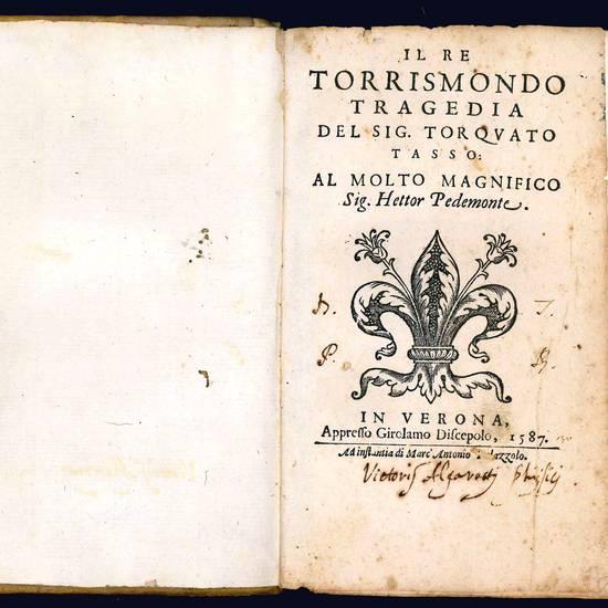 Il re Torrismondo tragedia