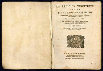 La religion vincitrice. Opera di fr. Antonio Valsecchi.