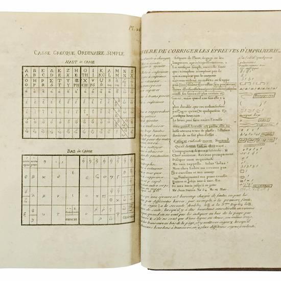 Traité élémentaire de l?imprimerie, ou le manuel de l?imprimeur; Avec 36 planches en taille-douce [?]