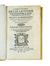 Libro primo [-terzo] delle lettere [...] Tradotto dal S. Domenico di Catzelu