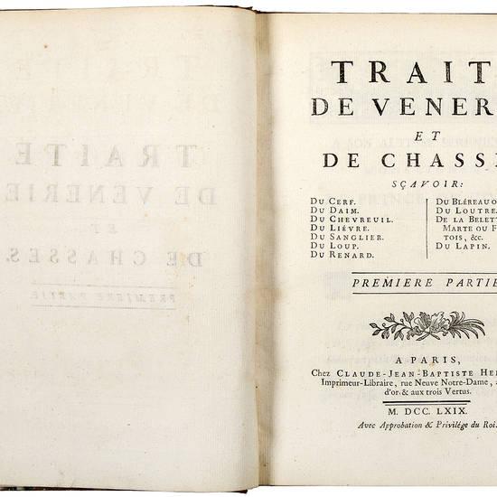 Traité de vénerie, et de chasses