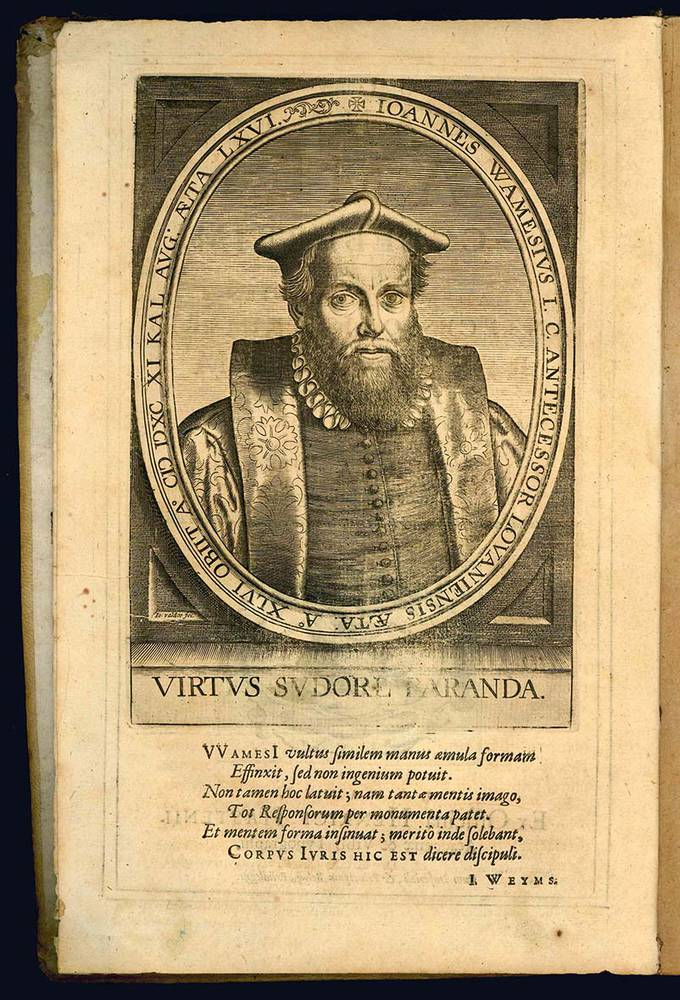 Responsorum sive consiliorum ad ivs forvmque civile pertinentium centvria prima.