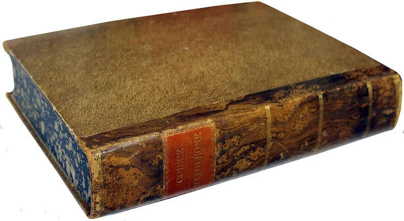 Codice di Napoleone il Grande per il Regno d'Italia