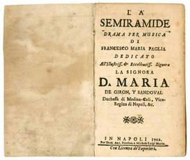 La Semiramide drama per musica