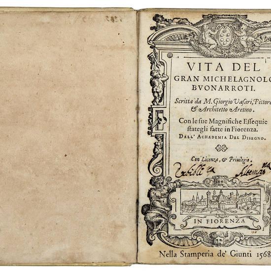 Vita del gran Michelagnolo Buonarroti