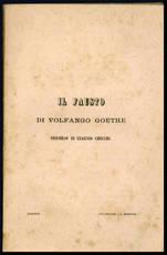 Il Fausto di Volfango Goethe.