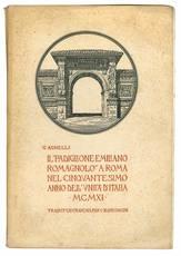 Il Padiglione emiliano-romagnolo a Roma nel cinquantesimo anno dell'Unità d'Italia - MCMXI (con 109 illustrazioni) Traduit en francais par C. Bianconcini.