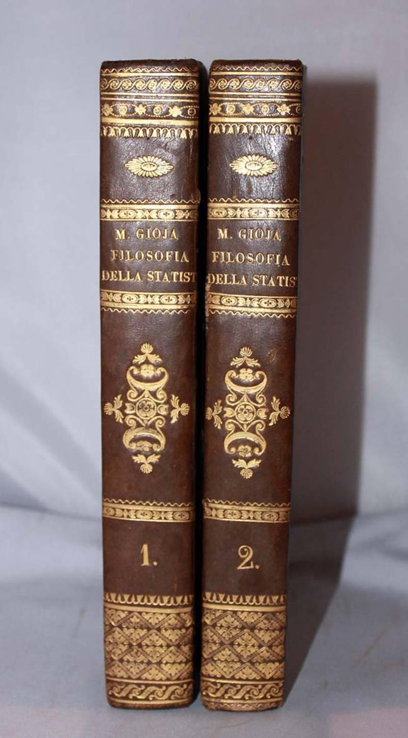 Filosofia della statistica (1831-1832).