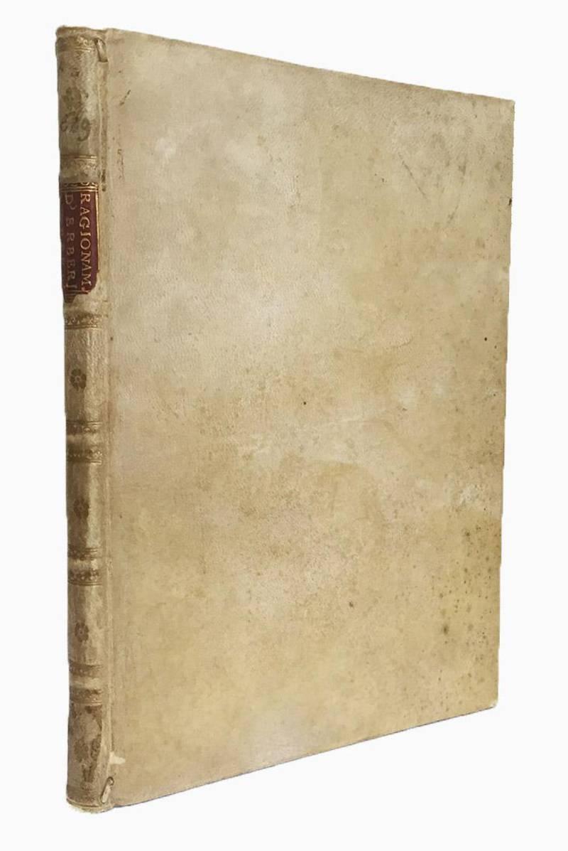 Ragionamento havuto in Lione, da Claudio de Herberé gentil'huomo franzese, et da Alessandro degli Uberti gentil'huomo fiorentino, sopra alcuni luoghi del Cento novelle di Boccaccio, i quali si ritroveranno secondo i numeri delle carte del Decamerone stam