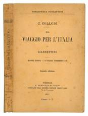 Il viaggio per l'Italia di Giannettino. Parte terza - L'Italia Meridionale. Seconda edizione.