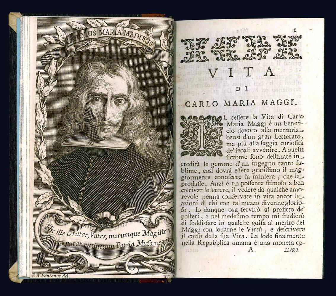 Vita di Carlo Maria Maggi.