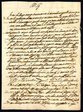 Bifolio manoscritto