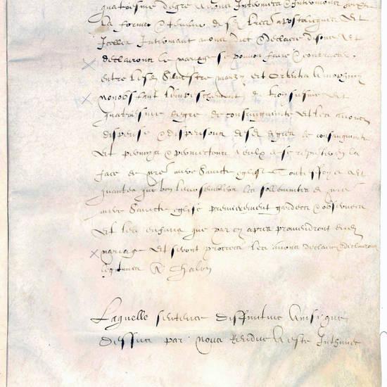 Dispensa matrimoniale Arnolfini Ortensia - Manzi Silvestro.